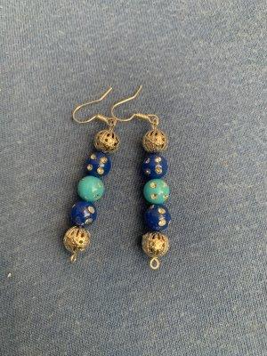 Handmade Kolczyk z perłą Wielokolorowy