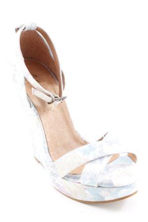 Cute Couture High Heel Sandal flower pattern elegant