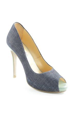 Cute Couture High Heels slate-gray-mint elegant