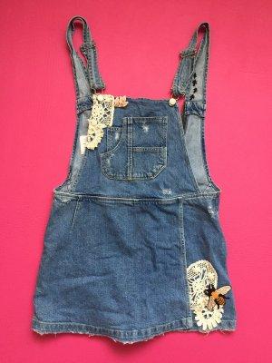 Zara Jeans met bovenstuk staalblauw