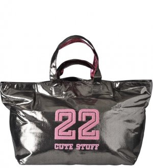 Cute Stuff Bolsa de gimnasio color bronce-rosa