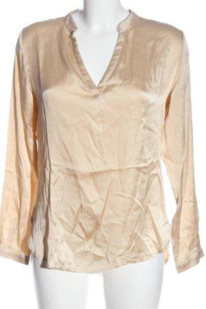 Cute Stuff Long Sleeve Blouse nude elegant