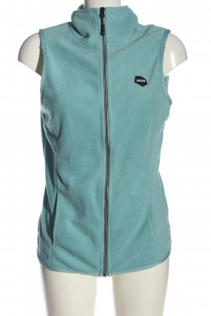 CUTTING EDGE Fleece Vest turquoise casual look