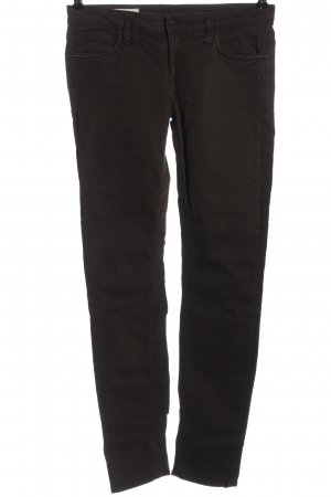 Cycle Low-Rise Trousers brown casual look