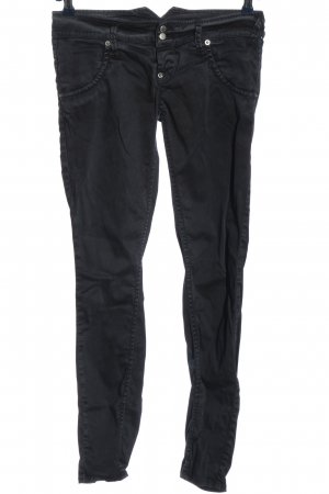 Cycle Low-Rise Trousers black casual look