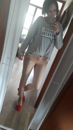 Cycle Skinny Jeans dusky pink