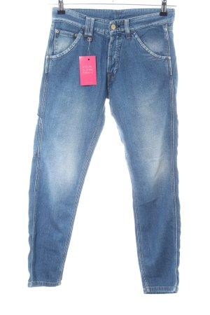 Cycle Straight-Leg Jeans blau Boyfriend-Look