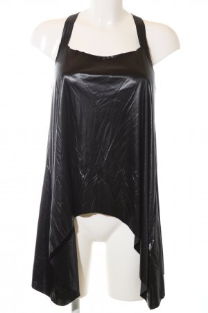 Cycle Cowl-Neck Top black extravagant style
