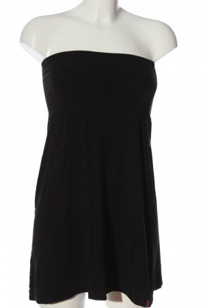 Cyell Off-The-Shoulder Dress black casual look