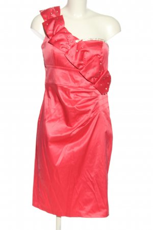 CYF One Shoulder Dress pink elegant