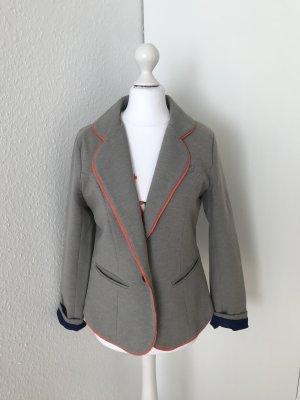 Cynthia Rowley Blazer Jacke Größe S grau Übergangsjacke leichte Jacke