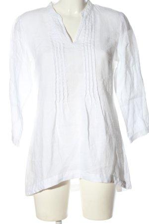 Cynthia Rowley Lniana bluzka biały Elegancki