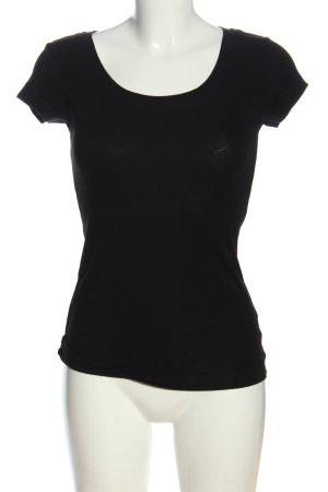 Cynthia Rowley Camicia lunga nero stile casual