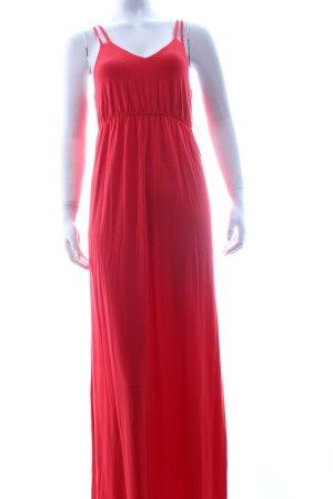 Cynthia Rowley Maxi abito rosso Tessuto misto