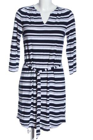 Cynthia Rowley Mini Dress blue-white allover print casual look