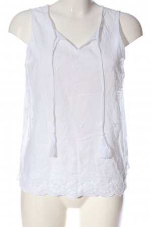 Cynthia Rowley Slip-over Blouse white casual look
