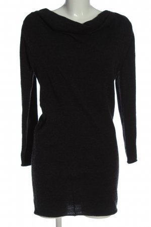 Cynthia Rowley Knitted Sweater black flecked casual look