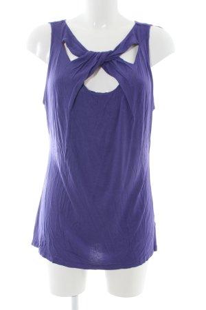 Cynthia Rowley Tanktop blau Casual-Look
