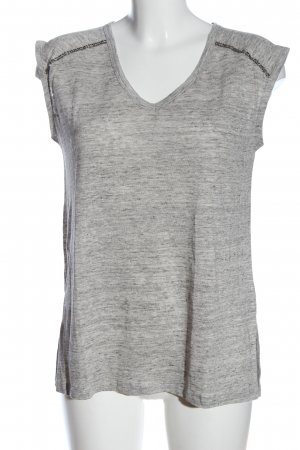 Cynthia Rowley Tank Top light grey flecked casual look