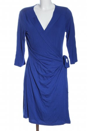 Cynthia Rowley Wickelkleid blau Casual-Look