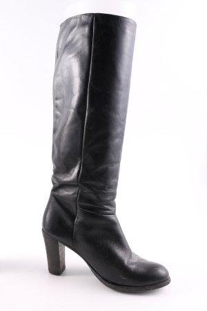 Cypres Absatz Stiefel schwarz Casual-Look