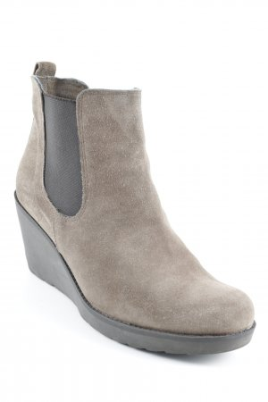 Cypres Wedge Pumps grey brown classic style