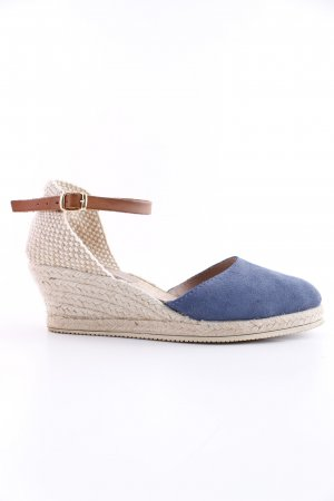Cypres Strapped High-Heeled Sandals blue-natural white casual look
