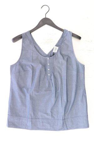 Cyrillus Sleeveless Blouse blue-neon blue-dark blue-azure cotton