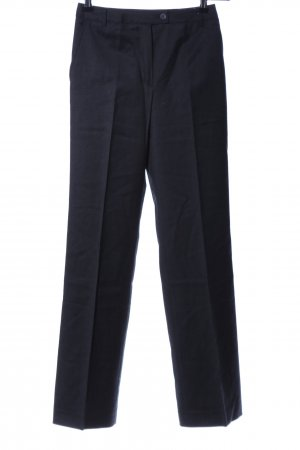 Cyrillus Pleated Trousers blue business style
