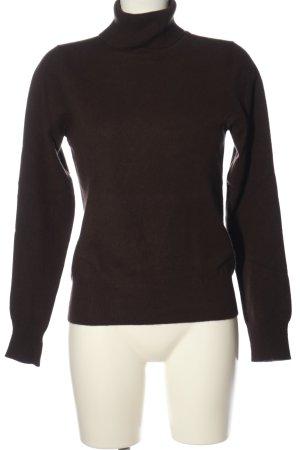 Cyrillus Kaszmirowy sweter brązowy W stylu casual