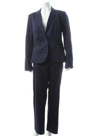 Cyrillus Trouser Suit dark blue business style