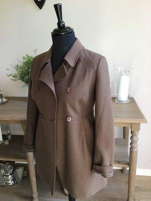 Cyrillus Between-Seasons-Coat grey brown