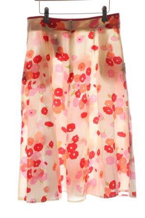 Cyrillus Midi Skirt allover print casual look