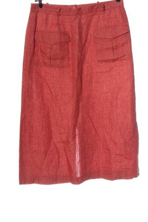 Cyrillus Gonna midi rosso stile casual