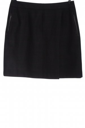 Cyrillus PARIS Wool Skirt black business style