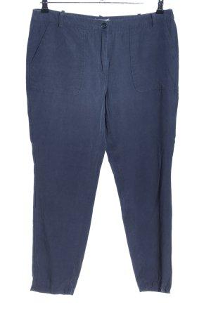 Cyrillus Stoffhose blau Casual-Look