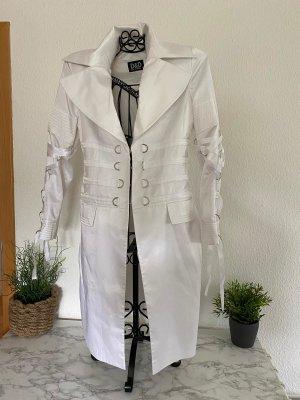D&D Dolce Domenica, Damen weißer Mantel Gr. M