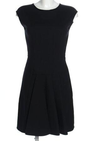 D. Exterior A Line Dress black business style