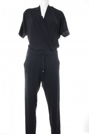 D. Exterior Jumpsuit schwarz Elegant