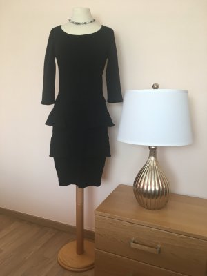 D. Exterior Evening Dress black mixture fibre
