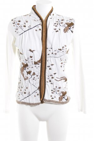 D. Exterior Short Blazer white-gold-colored classic style
