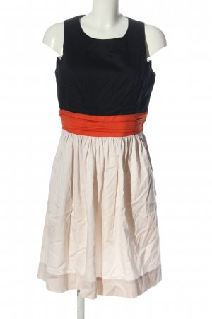 D. Exterior A Line Dress multicolored casual look