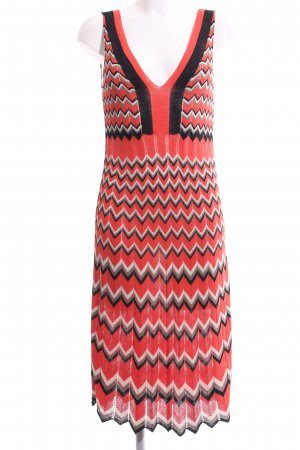 D. Exterior Knitted Dress graphic pattern casual look