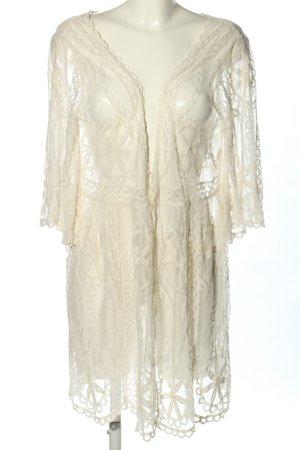 D&F Fashion Cardigan wollweiß Elegant