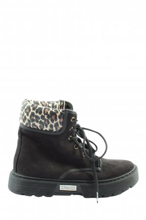 D.Franklin Desert Boots leopard pattern casual look