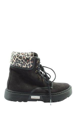 D.Franklin Chukka boot motif léopard style décontracté