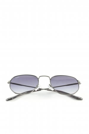 D.Franklin Aviator Glasses black casual look