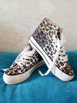 D.Franklin Leopard Sneakers 39 New