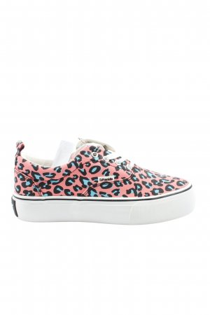 D.Franklin Platform Trainers abstract pattern casual look