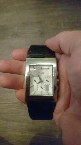 D & G Chronograph Damenuhr